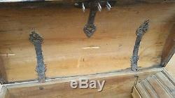1765 Large Norweign Immigrant Wedding Trunk