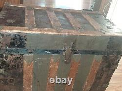 1800s Haunted Steamer Trunk