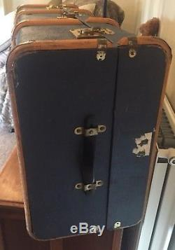 ANTIQUE STEAMER TRUNK, Antique Chest, Coffee TABLE, Style, Bentwood 1930s