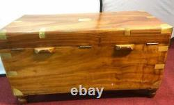 Fully Refinished Campaign Chest or Trunk