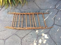 Lot 11 LOUIS VUITTON Antique Boat Anchor Wood Hangers for Wardrobe steamer trunk