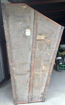 Lyon and Healy Antique Harp Case (Trunk), Huge, Wood, Old, Very Cool