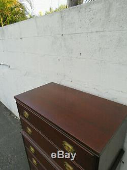 Mahogany Chest of Drawers by The Backus Brothers 9587
