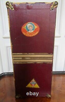 Vintage 1930s Ideal Shirley Temple Wood 13 Doll Trunk