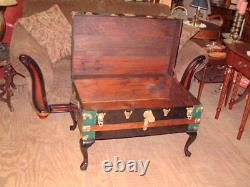 Vintage Trunk, Coffee Table, Storage Chest Chic Style